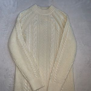 NWOT UNIQLO Cable Knit Sweater Dress Size XS